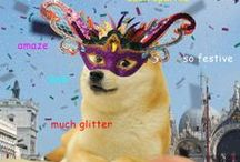Masked for Il Ballo del Doge / Masks! Memes! Merriment! Get inspired for our upcoming teen event at the Chapman Branch on February 12. For event details, visit slcpl.org/events/view/2787 / by The Salt Lake City Public Library System