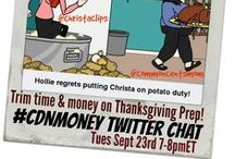 #cdnmoney chat with Common Cents Mom & Christa Clips!