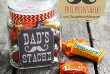 Father's Day - Gifts for Dad! / Fun and easy DIY gift ideas for dad on his special day!