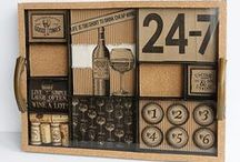 Trend Collection - Vino and Ale Collection / Creative products perfect for crafty projects with wine and beer themes including wine tastings, beer tastings, parties, showers, wine travel scrapbooking, wine country travel mini books and mre.