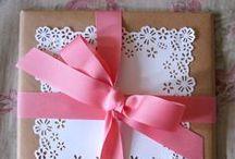 DIY - Kraft Paper Ideas / Get Beautiful Ideas for Kraft Paper Wrapping and Kraft Paper Crafts.