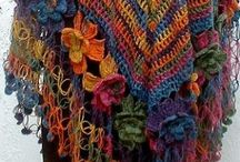 Crochê / Moda / by Margarete Medeiros