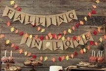 Fall Inspiration / Everything inspiring about Fall including DIY, Fall Crafts, Fall Parties, Fall decorations and more!