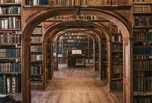 Bookshelf and Library Decor, Ideas and Inspiration / Ideas for fun, inspirational, magical spaces just for books.