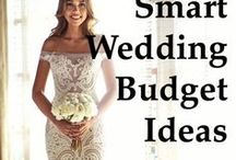 Budget Weddings / Learn how to plan your budget wedding and live your perfect moment​ without breaking the bank! #Frugal #Wedding