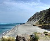 Le montagne di sabbia / Le immagini e le foto delle montagne di sabbia a Capo Rasocolmo, a Santo Saba.