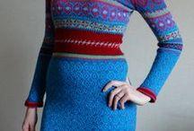 Вязание / Мои работы. Вязанные платья, джемперы, кофты. Вязание спицами.