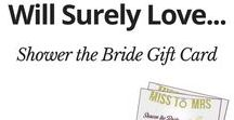 Bridal Shower Ideas / The Best Bridal Gift for The Excellent Marriage