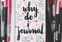 Journaling / Journaling can be very useful and enjoyable. There is no wrong way to journal. I've found some great pins to include on this board.