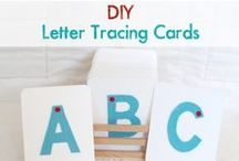 Alphabet Activies for Kids! / Alphabet Activities for kids!  Teach the ABC's using multiple techniques to compliment the way your child learns.  LOTS of fun and easy ideas!  You are going to have sooo much fun!