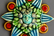 Mexico-Mexican tiles/plates-& a few others...LOVE the colors! / by Robyn Novak Pervin