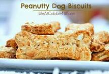Recipes For The Dogs You Love / Good but nutritious recipes for the four-legged friends in your life.