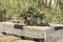 Al fresco dining / by Betty and Violet