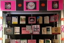 Book Displays / Check out our past book displays, we have many titles available.  Visit our online catalog: http://bit.ly/11CCqaV.