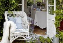 In the garden!