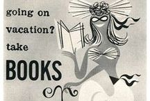 Vintage Library Reading Posters