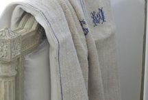 Old linen / Antique & vintage linens...the perfect textile / by Betty and Violet