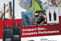 Icom Adverts / Collection of Icom UK Advertising