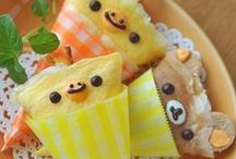 Kid's Food and Recipes / Bento, lunch box ideas, party food, snacks, etc