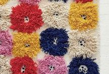 Textiles and Texture / fabrics, knitting, lace, crochet,