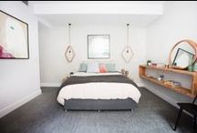 Good looking bedrooms / Ideas and inspiration for tiling and styling in modern bedrooms from Beaumont Tiles