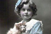 Vintage Cat Lady Photos.... / by Robyn Novak Pervin
