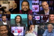 Top 20 Most Popular Interviews - 2014 / These are the 20 most-viewed Democracy Now! segments in 2014, measured by the number of visitors each interview received after being posted at democracynow.org. We are highlighting the links one at a time here on Pinterest and on the Democracy Now! Facebook page — and will feature the most popular segment of the year on December 31. Check back for updates! / by Democracy Now!