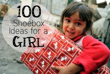 Operation Christmas Child / Ideas for Operation Christmas Child shoeboxes