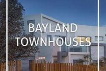 Bayland Townhouses / Bayland Property Group townhouses - for sale, in construction and completed projects - check out our website for more http://www.bayland.com.au/nowselling/