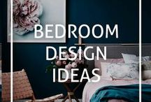 Bedroom Design Ideas / Inspiration and ideas for interior design and styling your bedrooms - master bedrooms, kids bedrooms, spare bedrooms and more!