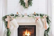 || christmas / christmas time, mistletoe and wine  holiday inspired board with all things christmas related, celebrations, decorations, trees, gifts, food, drinks and joy.