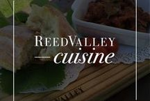 ReedValley Cuisine / ReedValley is proud to be the only establishment in the Mossel Bay area to sell authentic Portuguese cuisine and we have even created our very own pastel de vale (pastry of the valley). For those with less of a sweet tooth we also offer caldo verde, a traditional Portuguese green soup as well as pasteis de pescada (Portuguese fishcakes). At our tasting venue you are also able to sample original Portuguese beer and real vinho do Porto.