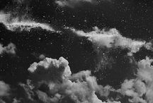 """Starry nights / """"Night air, good conversation, and a sky full of stars can heal almost any wound."""" Beau Taplin, Remedy"""