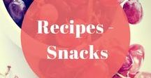 Recipes - Snacks / Emma and Rose brings you snack recipes