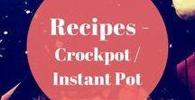 Recipes - Crockpot / Instant Pot / Emma and Rose brings you crockpot and instant pot recipes.