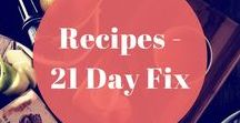Recipes - 21 Day Fix / Emma and Rose brings you 21 Day Fix recipes.