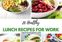 Lunch Recipes / Lunch should be a simple, but equally delicious meal.   HaleysVintage.com
