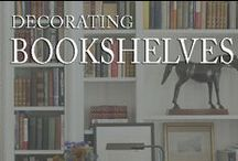 Bookshelves Decorating  / by Inviting Home