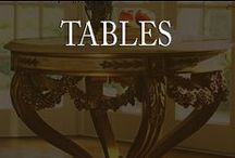 tables / Hand-made tables are not just beautiful in their artistry, this tables have soul that turns inanimate objects into living artistic expressions of life's value