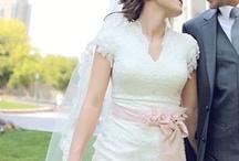 Wedding dresses Short-sleeves / modest