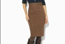 Brown/Orange Skirt