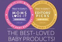 2014 What to Expect Awards / You've tried 'em and loved 'em. Find out which baby products your fellow moms picked for the 2014 What to Expect Awards. / by What To Expect