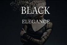Black Elegance – design, color and texture inspiration / by Inviting Home