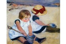 MARY CASSATT / Please pin courteously. The limit is 10 pins/day. If you return to pin the next day, please follow me or the board you are pinning from. Thanks! / by Alina Sedlander