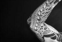 SKIN*ART 1 (B&W) / henna, tattoos, henné, tatouages, ink, irezumi, horimono, maori...