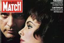 Match covers / Les Unes de Paris Match
