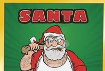 Team Santa / We present TEAM SANTA of Santa VS Jesus - the EPIC party game! The funny party card game for Christmas in which Team Santa and Team Jesus battle it out to have the must believers and rule Christmas!