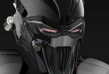 Helmet / Shadowrun/Fantasy/Science Fiction/Degenesis/Cyberpunk/DSA/Pathfinder/Vampire/Postapokalyptisch/Motorcycle/Fading Suns