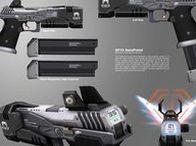 Pistols/Revolver / Shadowrun/Science Fiction/Degenesis/Cyberpunk/Vampire/Postapokalyptisch/Fading Suns