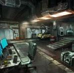 Garage Room / Shadowrun/Science Fiction/Degenesis/Cyberpunk/Vampire/Postapokalyptisch/Fading Suns
